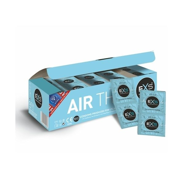 EXS Air Thin Condoms Bulk Pack 100