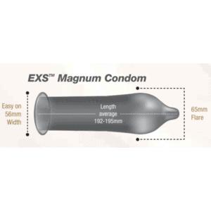 EXS Magnum Large condom size