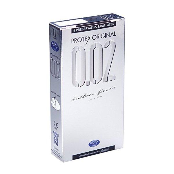 Protex Latex Free Condoms 6pc